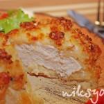 Курица в корочке из моцареллы