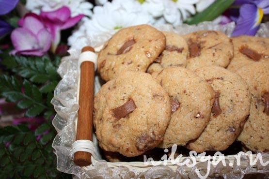 Печенье c молочным шоколадом | Самый вкусный портал Рунета
