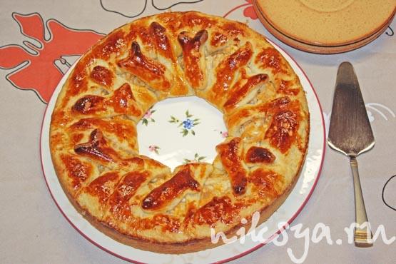 Пирог с тунцом ошеломительный