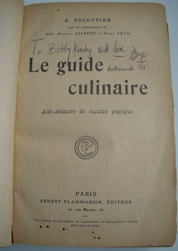 Le Guide Culinaire By Auguste Escoffier Download