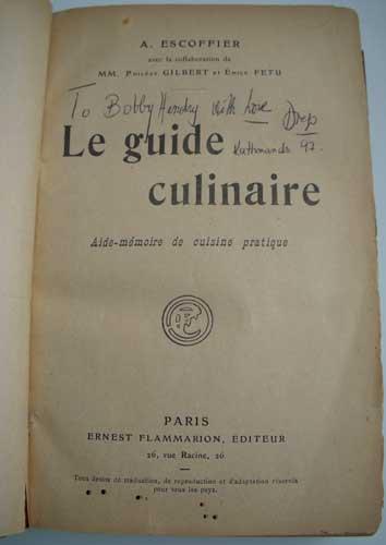 Georges auguste escoffier for Auguste escoffier ma cuisine