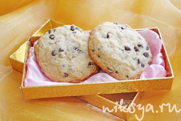 Печенье с шоколадными каплями | Самый вкусный портал Рунета
