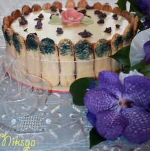 Торт с лавандой для сестры
