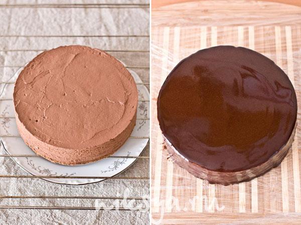 Как сделать шоколадные подтеки рецепт 436