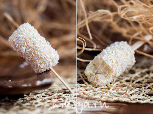 Кокосово-банановое эскимо