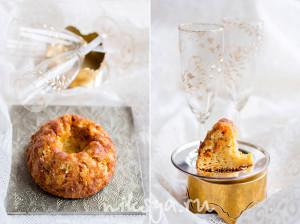 Кекс с шампанским и облепихой