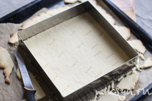 Песочное тесто в рамке