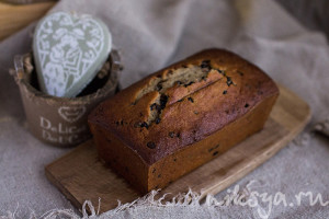 Bill's chocolat banana bread