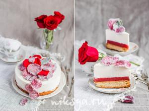 """""""Клубничная роза"""""""