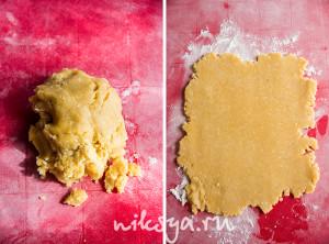 Кокосовое песочное тесто