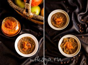 Petits pots de cr?me caf? ? l'orange, recette par Alain Ducasse