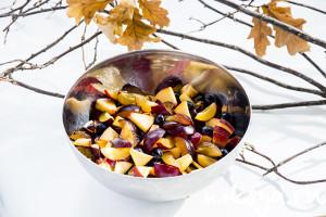 Подготовка фруктового микса
