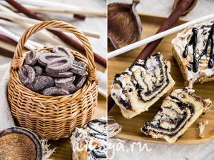 Бриошь с шоколадным ганашем
