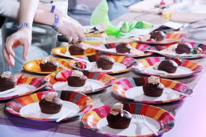 Шоколадные фонданы