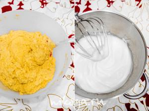 Тесто с французской меренгой