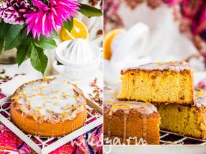 Апельсиновый пирог без муки
