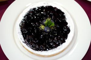 Тарт с черникой