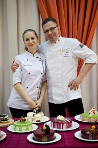 Нина Тарасова и Мишель Вийом
