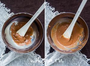 Работа с молочным шоколадом