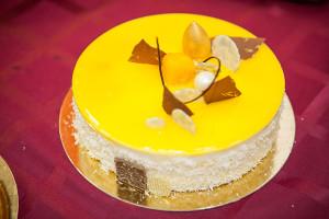Экзотический торт