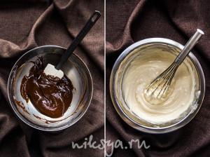 Ганаш и начинка с маскарпоне