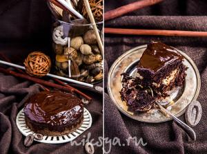 Экстра шоколадный пирог