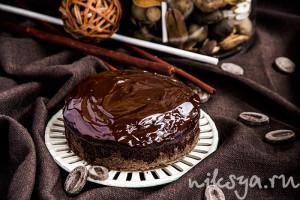 Шоколадный пирог, очень шоколадный