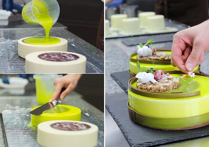 прозрачная карамельная глазурь для торта рецепт с фото