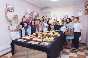 Группа в кулинарной школе VIP-masters