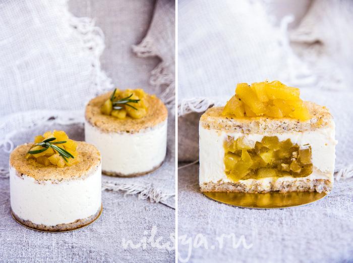 десерты с груши с фото