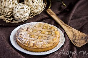 Тарт с пшеницей