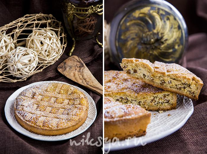 Неаполитанский пирог с рикоттой