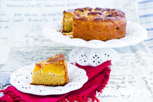 Peach Yoghurt Cake
