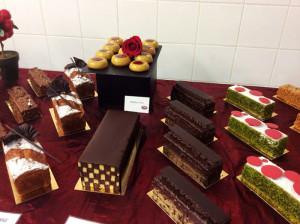 Damier cake