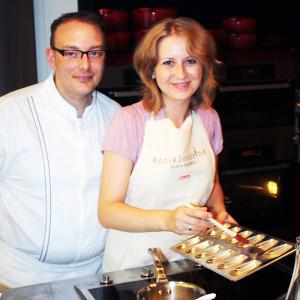 Franck Giffroy and Nina Tarasova