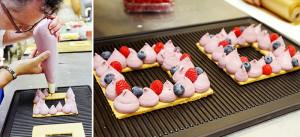 Тарт с красными ягодами