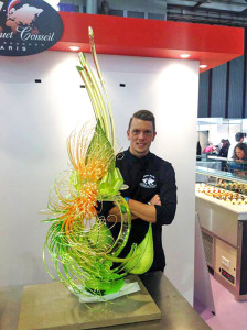Johan Martin and his Caramel Showpiece