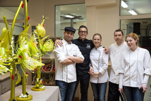 Chef Johan Martin and our team