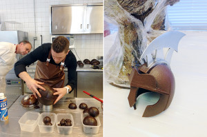 Chocolate Showpiece. Chef Johan Martin