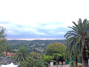 Morning. Mougins.