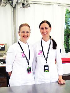 Нина Тарасова и Мария Волик
