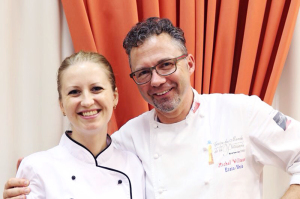 With Chef Michel Willaume