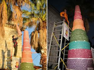 Башня macarons от Бруно Лаффарге и его компании Mic Mac