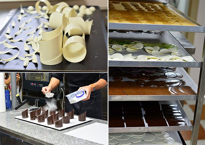 Завитки из шоколада как сделать 537