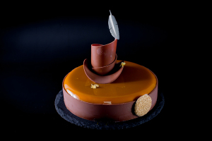 "Entremet ""Irish Coffee"""