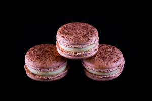 Macarons with Baileys.