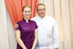 Franck Geuffroy et Nina Tarasova