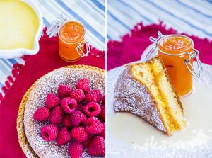 Пирог с грейпфрутами