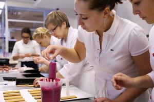 Рабочие моменты во французской школе