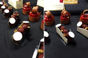 Пирожные с курса